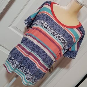 Vision Patterned Top